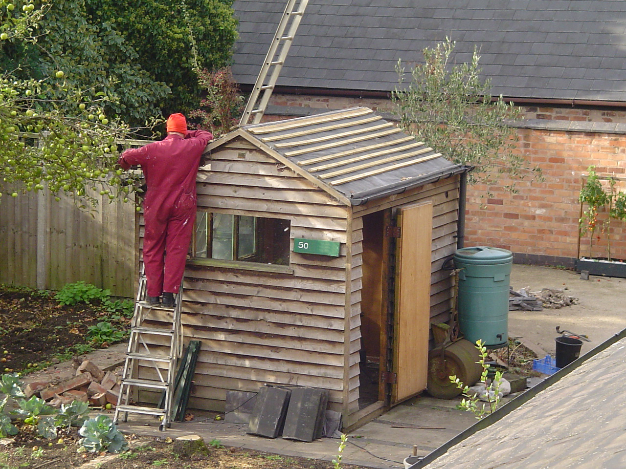 Goodbye Shed !